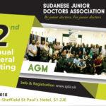 SJDA Annual General Meeting Autumn 2018